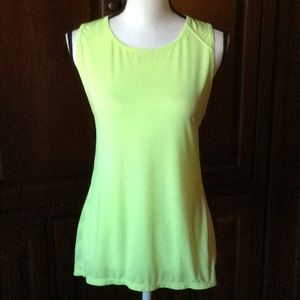 Athleta yellow tank S